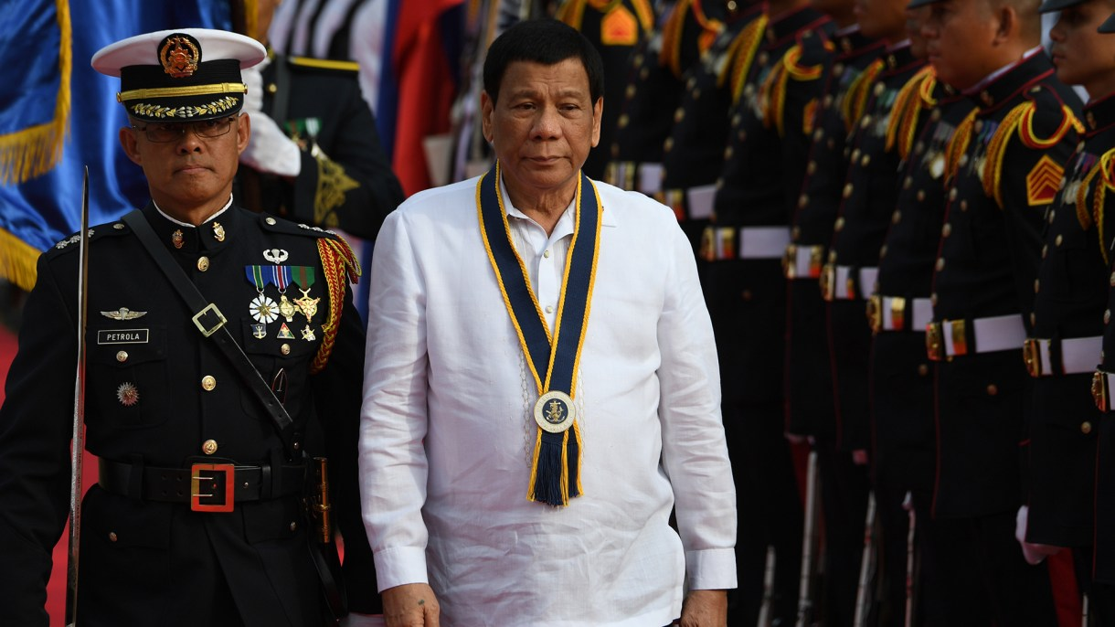 Rodrigo Duterte, presidente de Filipinas (AFP)