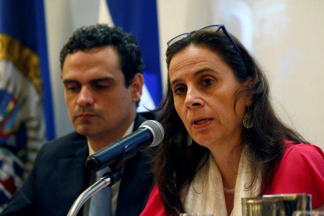 Antonia Urrejola,enviada de la CIDH en Nicaragua(REUTERS/Oswaldo Rivas)