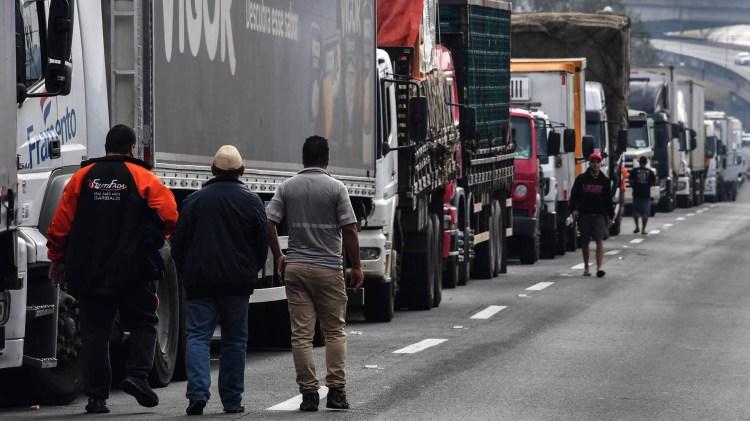 Michel Temer envío la gendarmería contra la huelga camionera (AFP)