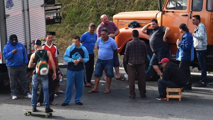 La huelga en Brasil continúa pese a la creciente presión del Gobierno (AFP)