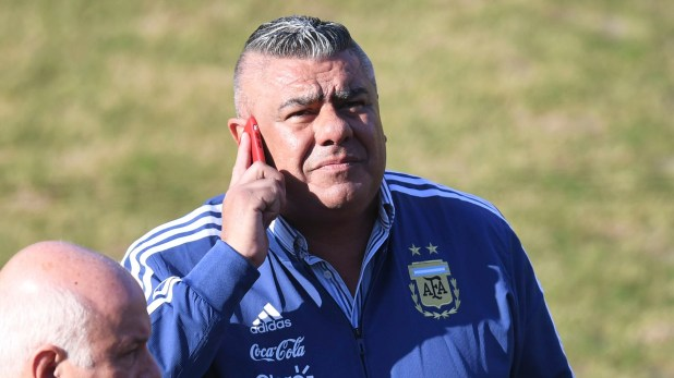 Claudio Tapia, máximo dirigente de AFA (Télam)