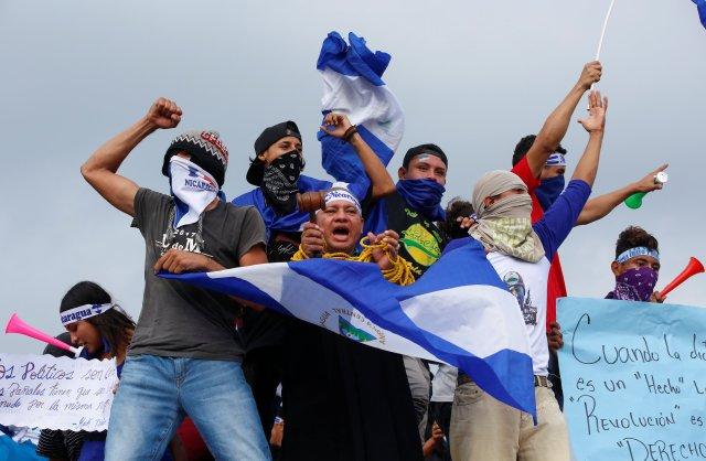 Las protestas no han cesado (REUTERS/Oswaldo Rivas)