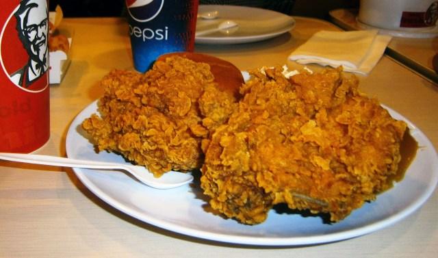 Pollo de KFC (Wikimedia)