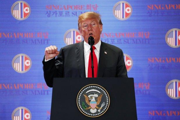Donald Trump, presidente de Estados Unidos (Reuters)