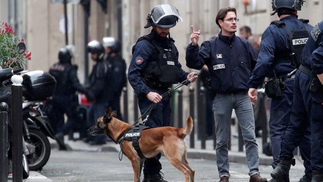 Un enorme dispositivo de seguridad fue instalado mientras se llevan a cabo las negociaciones (AFP)