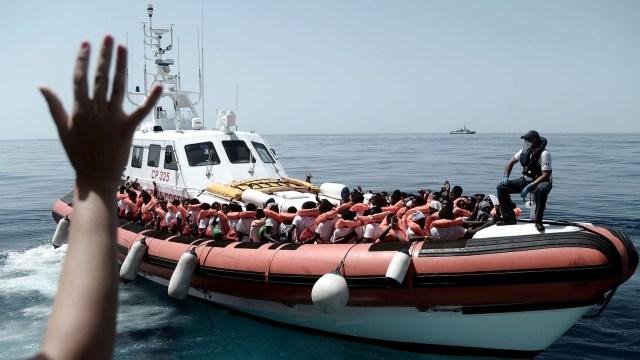 El Mediterráneo es la zona más letal, con alrededor de la mitad de los muertos que se registran en el mundo cada año (AFP)
