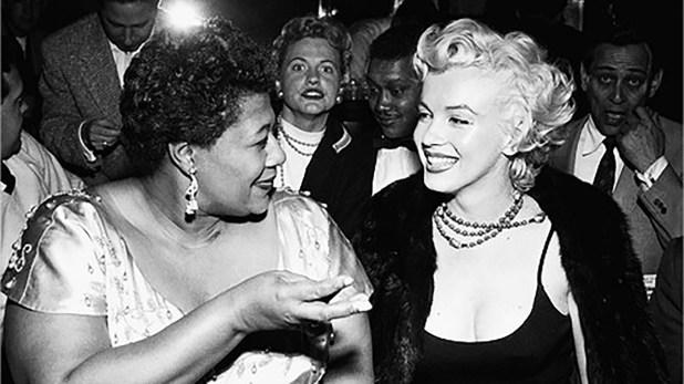 Marilyn Monroe era gran admiradora de Ella. La defendió cuando la policia de Dallas la discriminó por su color de piel.
