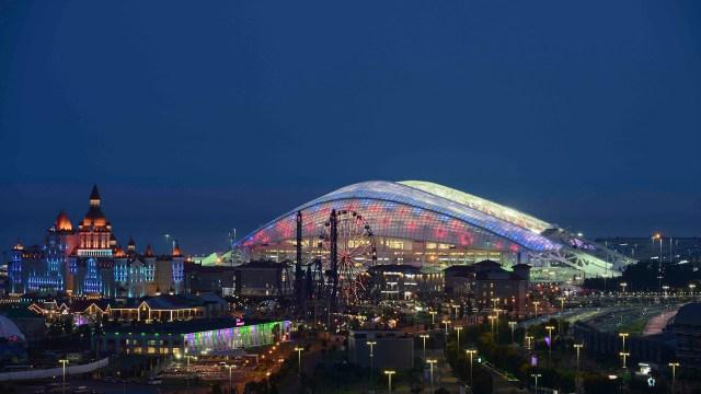 Fisht Stadium en Sochi, Rusia. (REUTERS/Evgeny Reutov)