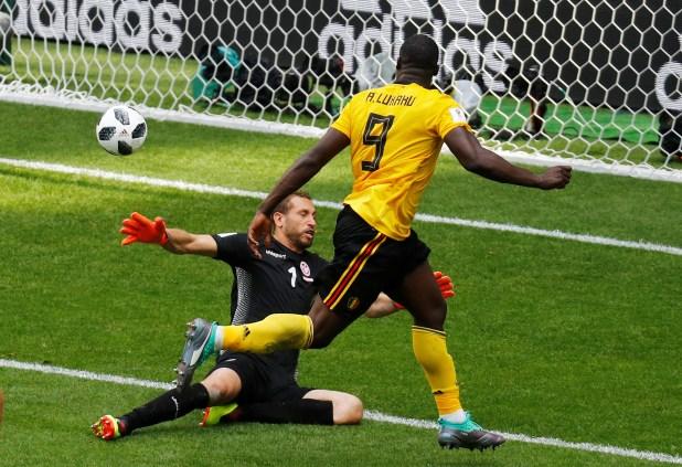 Lukaku es una de las grandes figuras del Mundial (REUTERS/Kai Pfaffenbach)