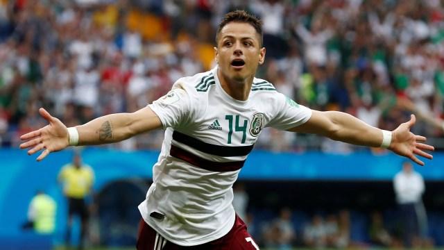 Javier 'Chicharito' Hernandez fue el autor del segundo gol de México (REUTERS/Damir Sagolj)
