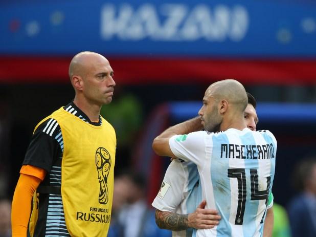 """Con 147 presentaciones, el """"Jefecito"""" es el futbolista con más presencias en Argentina (AFP)"""