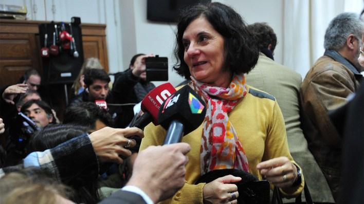 Silvia, madre del joven asesinado en el juicio que condenó a Galarza (Ricardo Santellán)