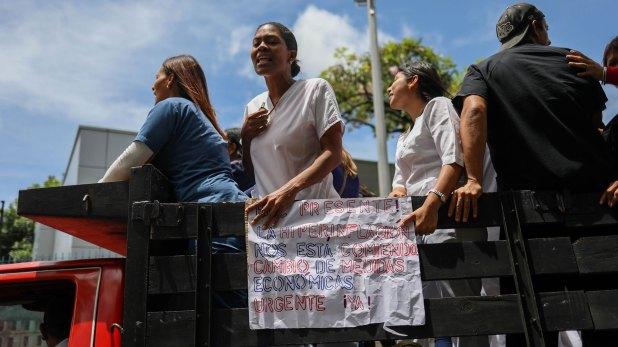 El paro se ha realizado en la capital venezolana y se han sumado otros estados del país (EFE)