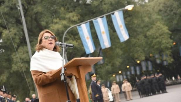 La intendente de Rosario, Mónica Fein
