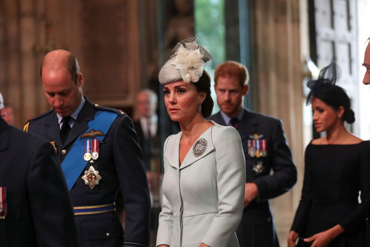 Las peleas entre Kate Middleton y Meghan Markle se intensifican (Reuters/ Simon Dawson)