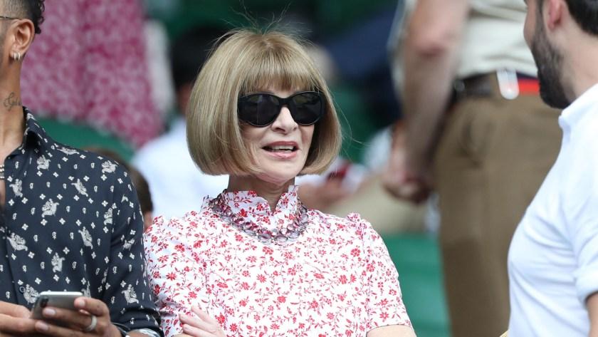 En el 2018 se rumoreó que Anna Wintour dejaría la dirección de la revista Vogue USA