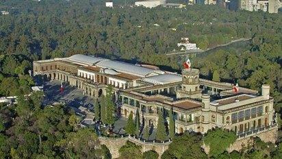 El Castillo de Chapultepec en la Ciudad de México