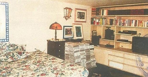 Habitación de Escobar en el centro penitenciario.