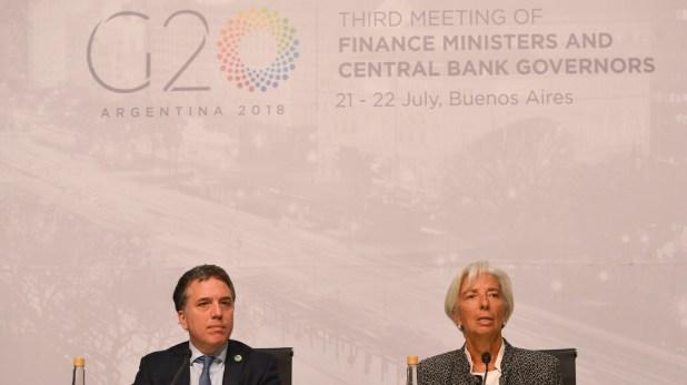 La directora gerente del FMI confía en que la economía se recuperara en 2019 y 2020 (Prensa Hacienda)