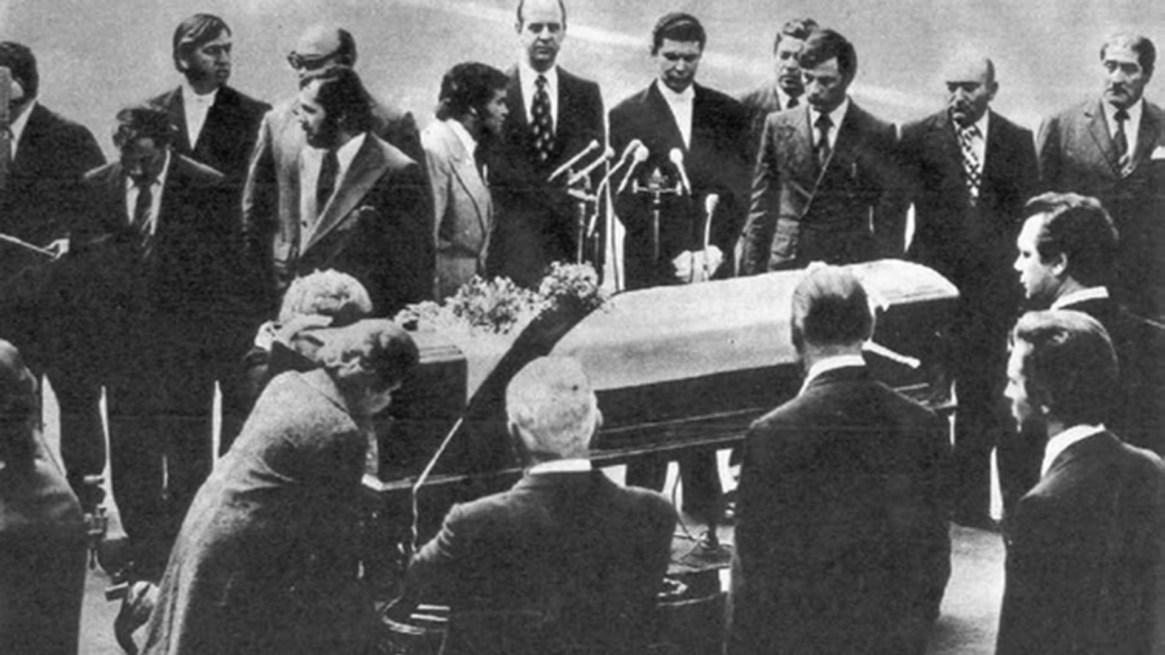 Eva Duarte falleció el 26 de julio de 1952, en Buenos Aires