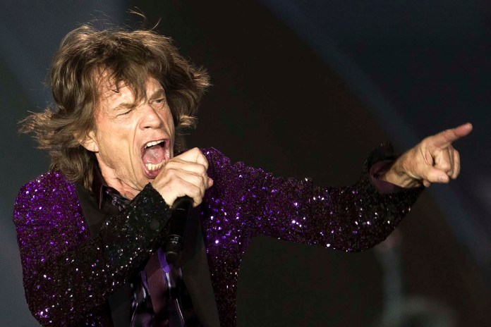 Mick Jagger (AP Photo/Ariel Schalit)