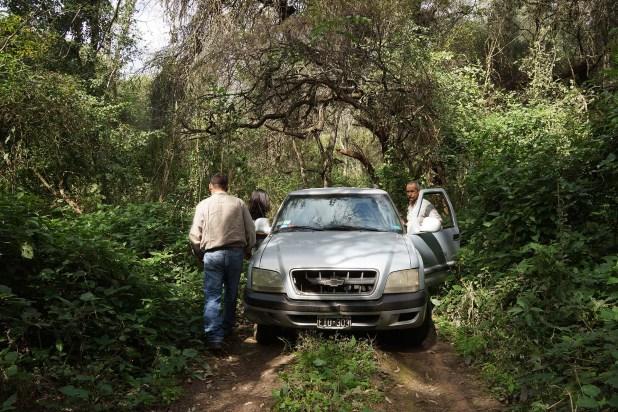 La picada tradicional, más transitable que la ruta (Raquel Peiro)