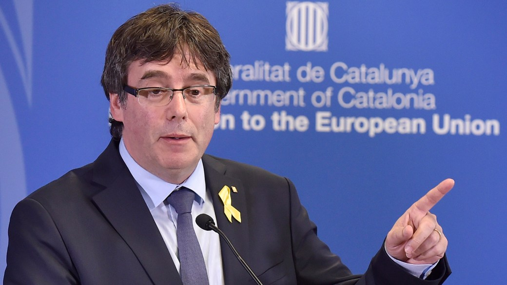 Carles Puigdemont llegó este sábado a Bélgica (Reuters)
