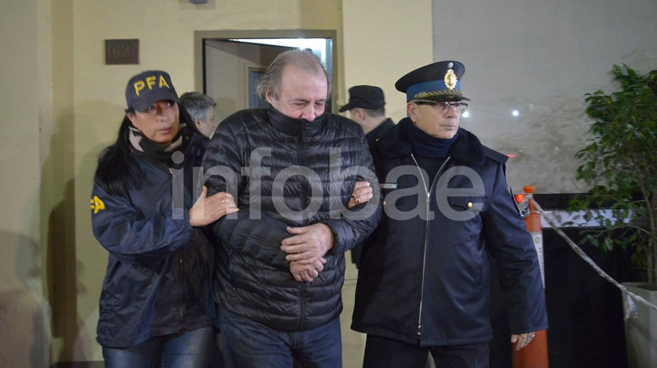 5.- Armando Roberto Loson, presidente del Grupo Albanesi, fue detenido en la madrugada del miércoles en el barrio porteño de Recoleta