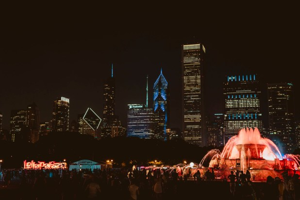 La increíble vista de Chicago desde Grant Park.