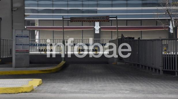22. El estacionamiento del hotel Hilton, dondeSánchez Caballero le pagó a Barata US$ 1.250.000 el 4 de agosto de 2015