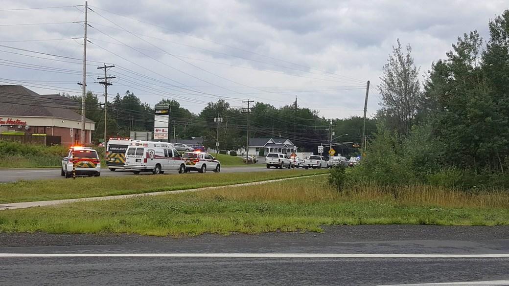 Ambulancias en Fredericton, Canadá (Reuters)
