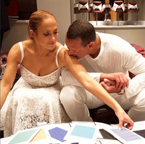 Jennifer López y Alex Rodriguez en Capri, Italia (Instagram J.LO)
