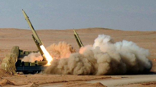 El misil iraní Fateh-110 (Imagen de archivo)