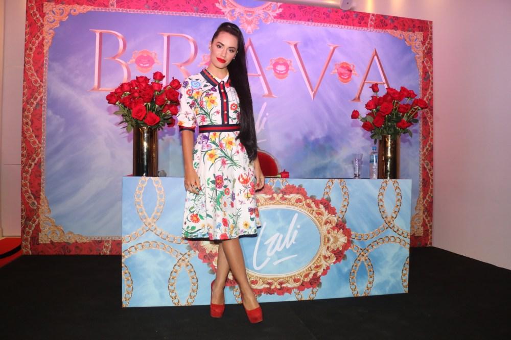 "La joven artista presentó su nuevo disco, ""Brava"""