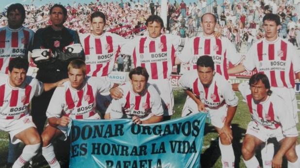 Tiempo después emigró a 9 de Julio de Rafaela, equipo que actualmente juega en el Federal B