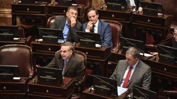Algunos de los senadores peronistas que votarán a favor de los allanamientos