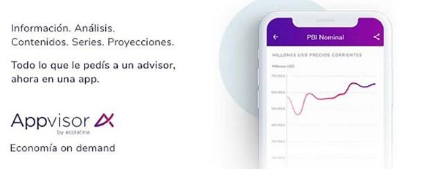 Appvisor de Ecolatina. La consultora macroeconómica es la primera del sector en comenzar a insertarse en el mundo de las apps