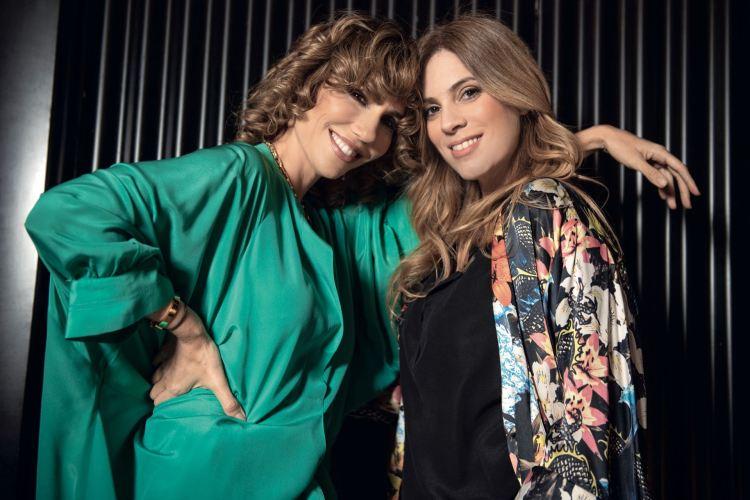 Mey Scápola y Julieta Novarro, compañeras en Microteatro (Foto Para Ti)