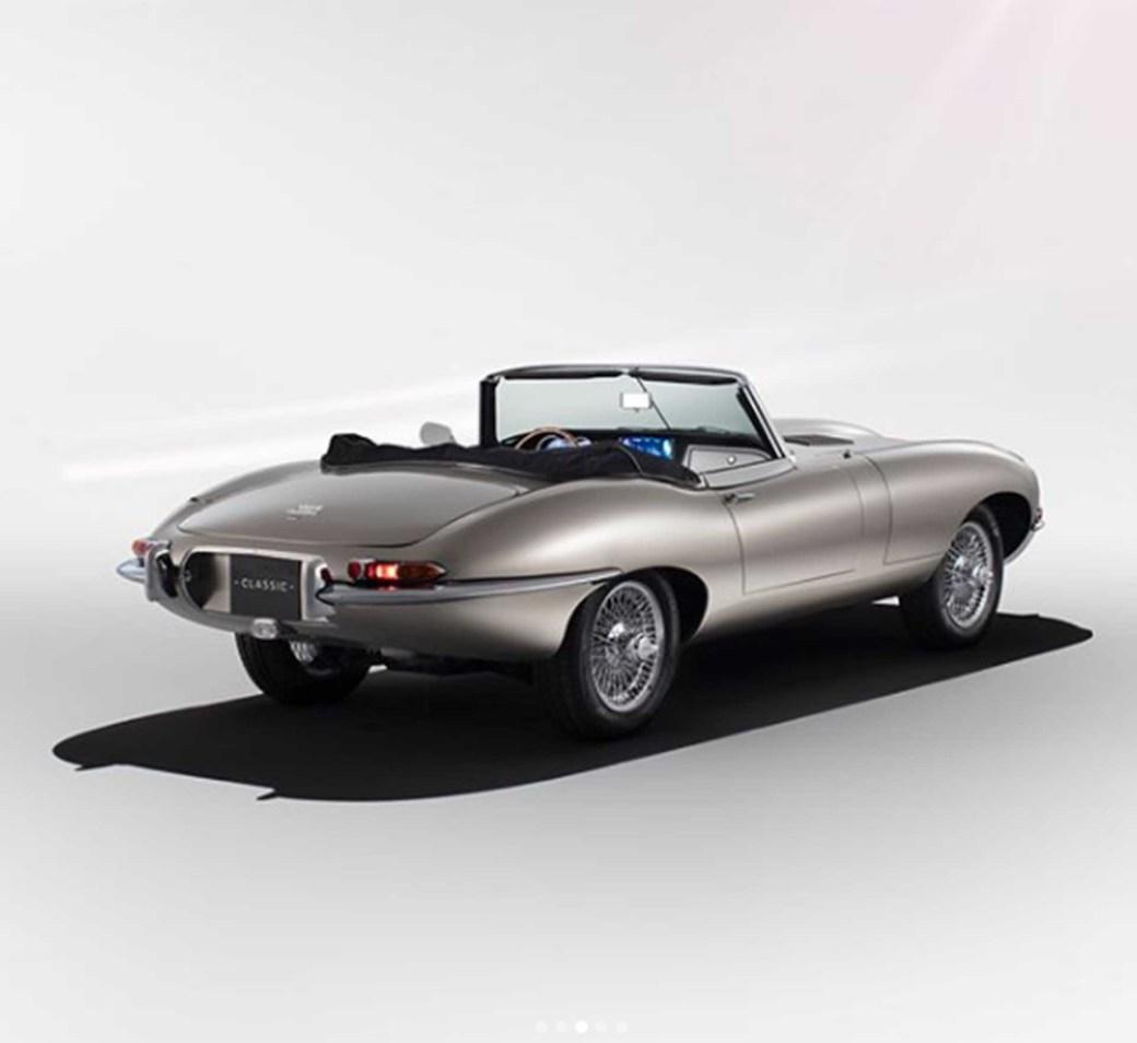 Jaguar Classic E-Type Zero