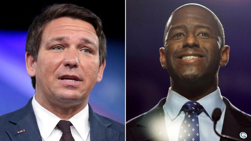 DeSantis se medirá en las elecciones de medio término, el próximo 6 de noviembre contra el demócrata Andrew Gillum