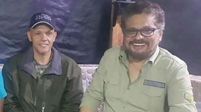 Los ex comandantes de la extinta FARC, Hernán Darío Velásquez (El Paisa) yLuciano Marín Arango (Iván Márquez) .