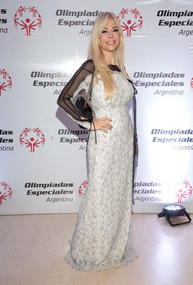 Graciela Alfano, súper elegante en la Comida Anual Solidaria de Olimpíadas Especiales Argentina (Christian Bochichio)