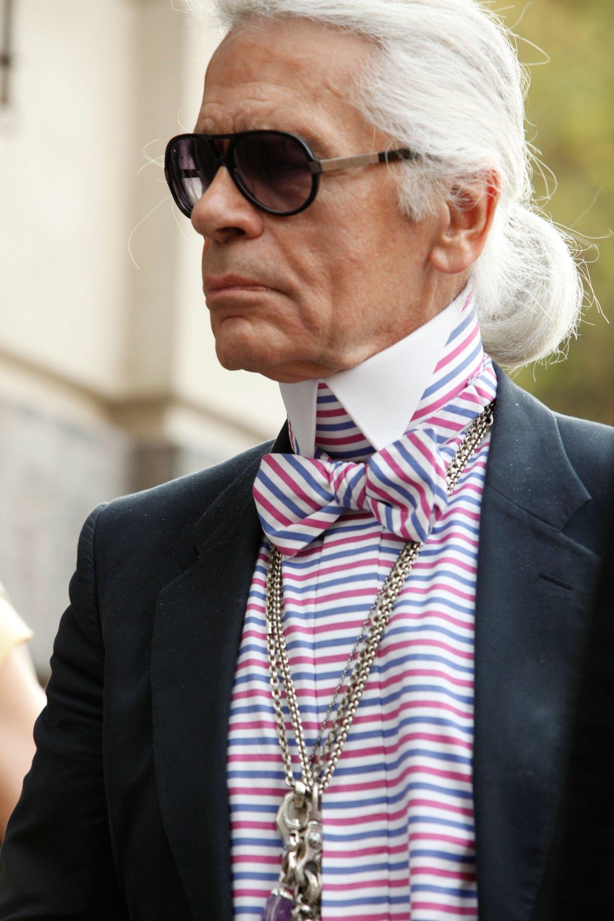 A los 85 años murió Karl Lagerfeld