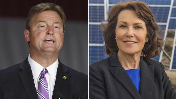 Dean Heller y Jacky Rosen compiten poruna bancaen el Senado como representantes de Nevada.