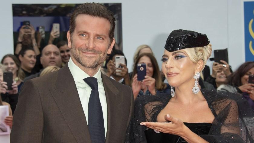 """Bradley Cooper y Lady Gaga en el estreno de """"A Star is Born"""" (Foto: EFE)"""
