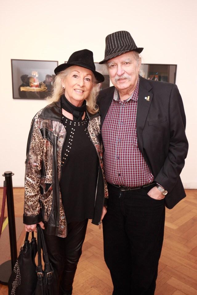 La artista plástica Lily Brodesky y el arquitecto Edgardo Rodríguez