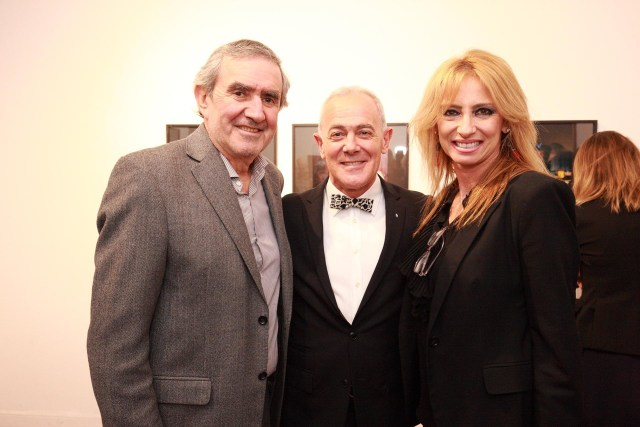 Jorge Fainzaig, Martin Wullich y Silvina Frid