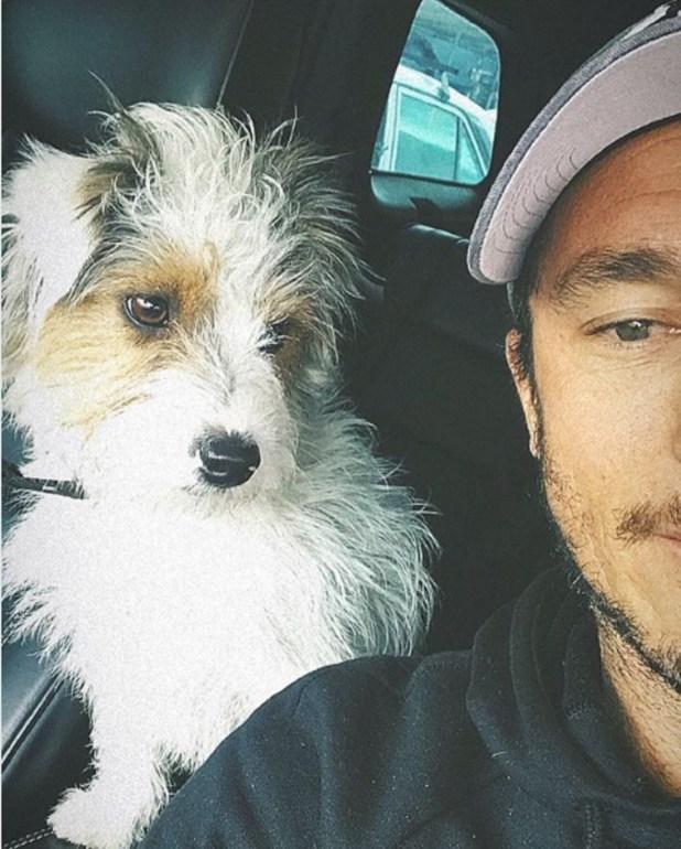 Pico y Osvaldito en la camioneta del ex tenista (Instagram)