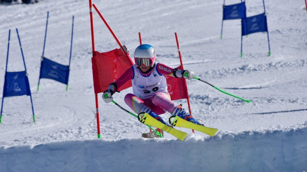 Práctica de esquí alpino (Facebook Federación Argentina de Ski y Andinismo)
