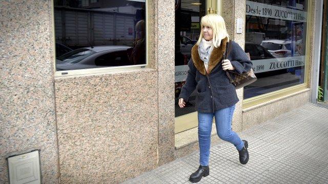 Claudia Villafañe, amiga íntima del actor y de la familia